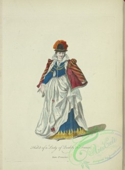 fashion-00889 - 131-Habit of a lady of quality in France, Dame Francoise