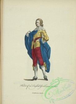 fashion-00989 - 231-Habit of and English gentleman in 1640, Gentilhomme Anglois