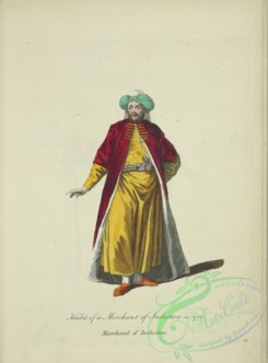 fashion-01050 - 298-Habit of a merchant of Indostan in 1700, Marchand d'Indostan