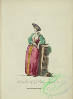 fashion-01083 - 331-Habit of the wife of a Russian boor in 1768, Femme d'un paysan de Russe