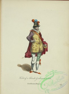 fashion-01164 - 415-Habit of a French gentleman in 1626, Gentilhomme Francois