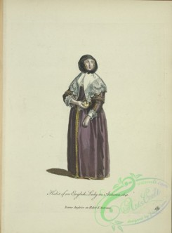 fashion-01196 - 447-Habit of an English lady in autumn, 1641, Dame Angloise en habit d'automne