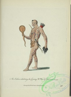 fashion-01203 - 454-An Indian inhabiting the country Northwest of Louisiana in 1741 Sauvage du Nord Ouest de la Louisiane