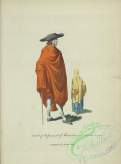 fashion-01216 - 470-Habit of a Spaniard of Montevideo in South America in 1764, Espagnol de Montevideo