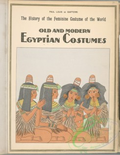 fashion-01271 - 035-Old and modern Egyptian costumes