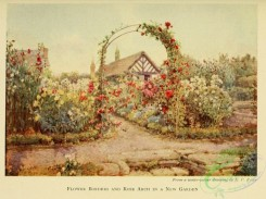 gardens-00066 - Flower borders and rose arch in a new garden [2297x1719]