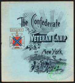 menu-00706 - 00626-Confederate, Veteran Camp, Soldiers, Historical