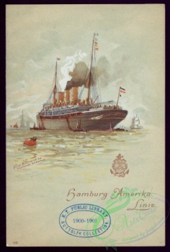 menu-00940 - 01034-Steamship, Sea