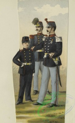 military_fashion-00892 - 105742-Belgium, 1890-1896-Pupille compagnie ( ) a discipline sedentaire, 1895