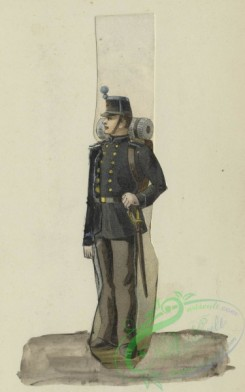 military_fashion-00896 - 105746-Belgium, 1890-1896-Soldat d'administration, 1895