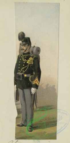 military_fashion-00898 - 105748-Belgium, 1890-1896-Chasseur a pied, 1895