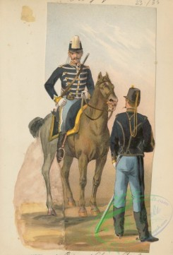 military_fashion-00903 - 105753-Belgium, 1890-1896-2 Regiment chasseurs a cheval, 1895