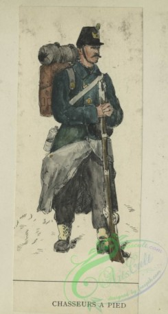 military_fashion-00929 - 105796-Belgium, 1853-1889-Chasseurs a pied. 1896