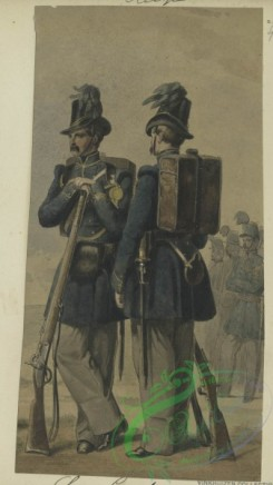 military_fashion-00930 - 105797-Belgium, 1853-1889-Chasseur Carabiniers. 1852