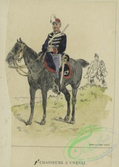 military_fashion-00934 - 105803-Belgium, 1853-1889-1-er Chasseurs a cheval. 1896
