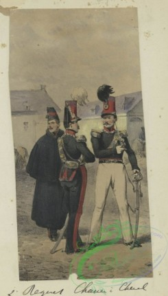 military_fashion-00986 - 106185-Belgium, 1832-2' Regiment Chasseur a Cheval