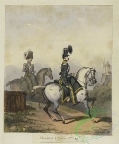 military_fashion-00987 - 106187-Belgium, 1833-1852-Chasseurs a cheval - 1er regiment