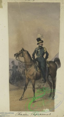 military_fashion-01060 - 106388-Belgium, 1832-Chasseur Capiaumont