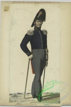 military_fashion-01132 - 106569-Belgium, 1790-1829-Officer de l'Armee