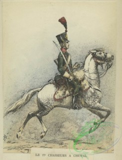 military_fashion-01166 - 106639-Belgium, 1790-1829-Le 27_ chasseurs a cheval
