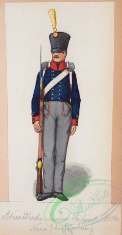 military_fashion-02054 - 108802-Norway and Sweden, 1814
