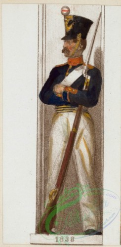 military_fashion-02177 - 108985-Norway and Sweden, 1837-1839