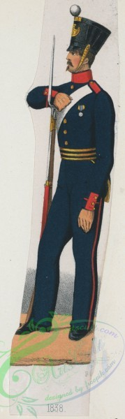 military_fashion-02185 - 108994-Norway and Sweden, 1837-1839