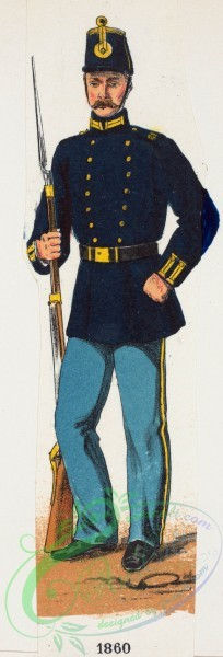 military_fashion-02255 - 109145-Norway and Sweden, 1860