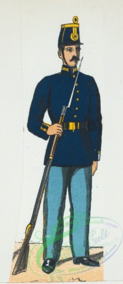 military_fashion-02258 - 109149-Norway and Sweden, 1860