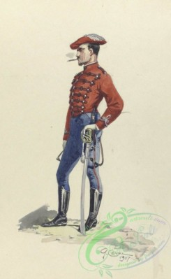 military_fashion-03988 - 104242-Spain, 1845-1849-Husar