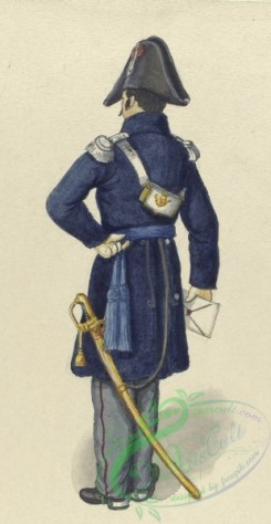 military_fashion-04047 - 104347-Spain, 1830-1835-Officier vom Konigl. Generalstab. 1835