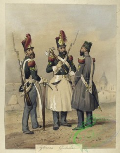military_fashion-04111 - 104416-Spain, 1824-1829-Egercito Espanol. Infanteria, Gastadores