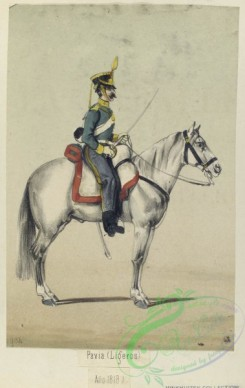 military_fashion-04138 - 104448-Spain, 1815-1823-Pavia. (Ligeros) (Ano 1816)