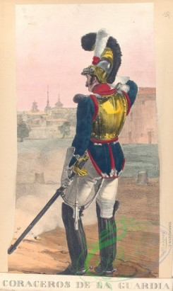 military_fashion-04187 - 104511-Spain, 1813-1814-Coraceros de la Guardia Real