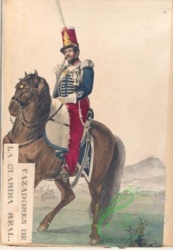 military_fashion-04190 - 104514-Spain, 1813-1814-Cazadores de la Guardia Real