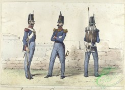 military_fashion-04222 - 104570-Spain, 1812-1. Sargento, 2. Capitan , 3. Cazador. (Linea). 1812
