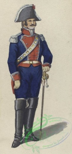 military_fashion-04666 - 200194-Spain, 1807-Guardia de corps. 1807