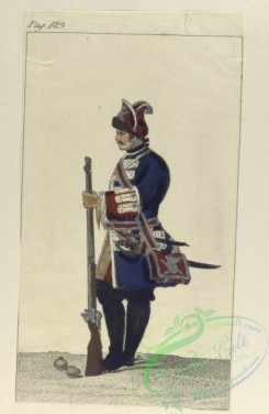 military_fashion-04698 - 200361-Spain, 1700-1744-Granadero a caballo. Guardia Real. 1735