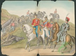 military_fashion-04755 - 112946-Great Britain. England, 1799, cavalry, horse rider, group, officer