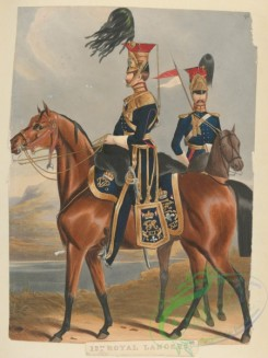 military_fashion-04782 - 113349-Great Britain, 1829-1845, horse rider, officer, royal lancers