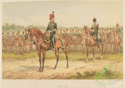 military_fashion-04796 - 116143-Great Britain, 1854-1860, horse rider, officer, horses, troop, unit