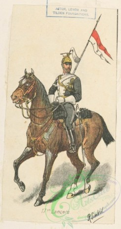 military_fashion-04850 - 116330-Great Britain, 1889-1896, lancers, cavalry, horse rider, officer