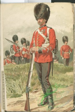 military_fashion-04882 - 116391-Great Britain, modern, grenadier guards, private infantry soldier