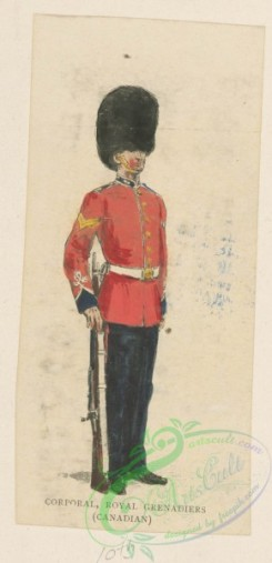 military_fashion-04944 - 116747-Great Britain, colonies-Corporal, Royal Grenadiers (Canadian)