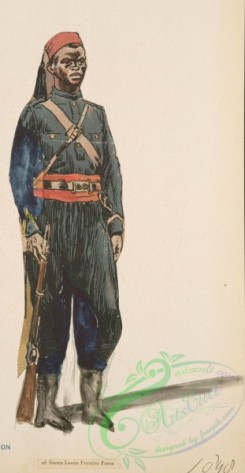 military_fashion-04976 - 116807-Great Britain, colonies, sierra leone frontier force