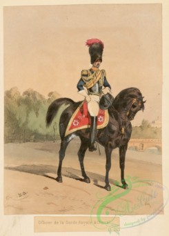 military_fashion-04995 - 116854-Great Britain, 1644-1900, horse, rider, officer