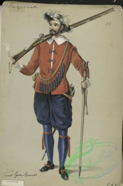 military_fashion-05027 - 200399-Great Britain. England, 1066-1741, Musqueteer