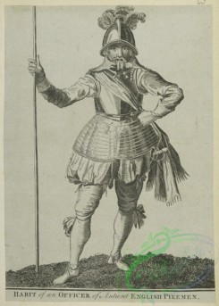 military_fashion-05047 - 200425-Great Britain. England, 1066-1741, Knight, officer, Pikeman