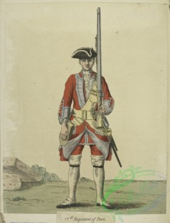 military_fashion-05071 - 200461-Great Britain. England, 1742, private infantry soldier