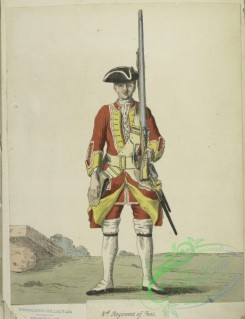military_fashion-05076 - 200466-Great Britain. England, 1742, private infantry soldier